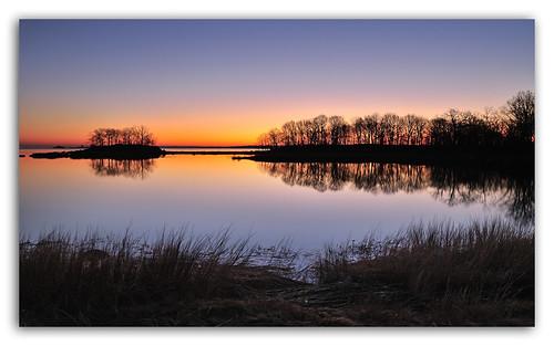 sunrise serenity pelham hunterisland carlosmolina nikond3x carlosmolinaphotography 24mmf35dpce january12012