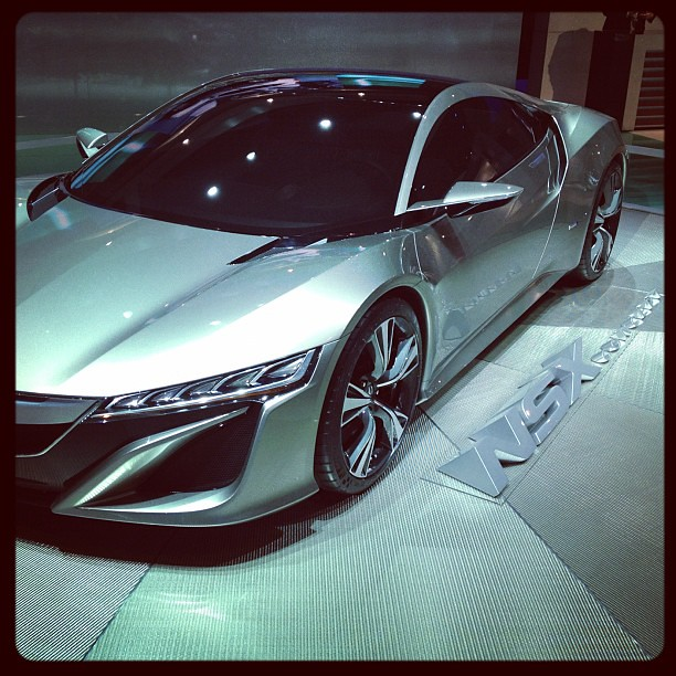 Acura Debuted The New NSX At