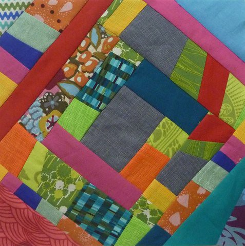 DHWQ Week 29 - Painted Road | by Quiltjane