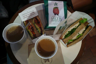 Pret a manger Sandwich lunch