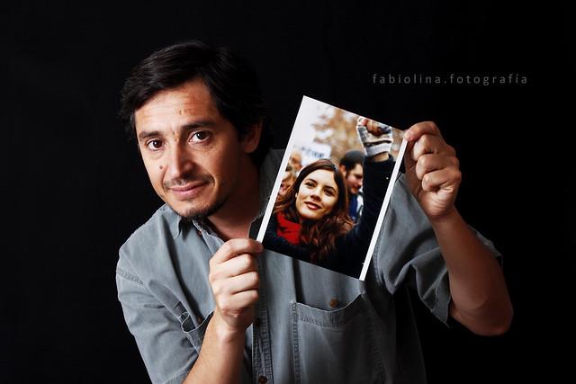 Mario Téllez y su foto