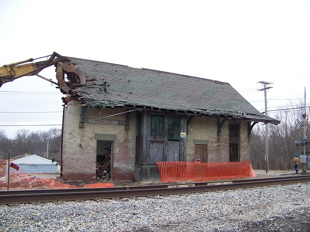 Bye bye Wilmington depot