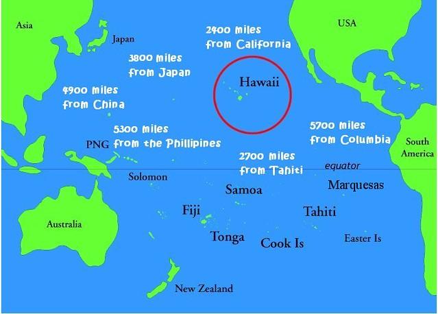hawaii pacific ocean map Where Is Hawaii Map Relative To Pacific Ocean Ramona Benson Flickr hawaii pacific ocean map