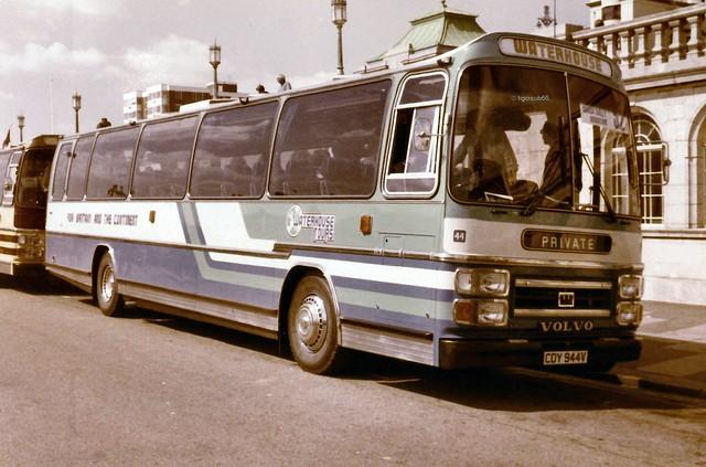 Waterhouse CDY544V  Volvo B58 Plaxton Supreme Brighton coach Ra