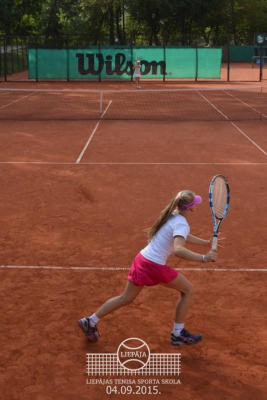 Tennis Europe Liepaja International tournament U12, 2015, September 4, Last day