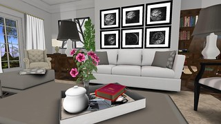 Park Place Home Decor, Ashford LR (close-up tray) | by Hidden Gems in Second Life (Interior Designer)