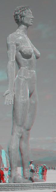Burning Man 2015 R-Evolution 3D Anaglyph