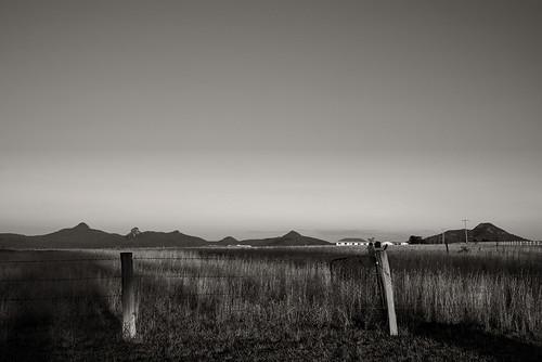 road sunset mountains rural landscape shadows queensland middle scenicrim rurallandscape