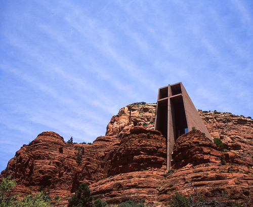 "Image titled ""Chapel of the Holy Cross, Sedona."""