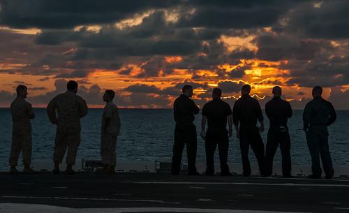 soldier sailors lateafternoon late colors sunset people airforce exploration sandiego california outdoors walking waterways skies travelformyjob