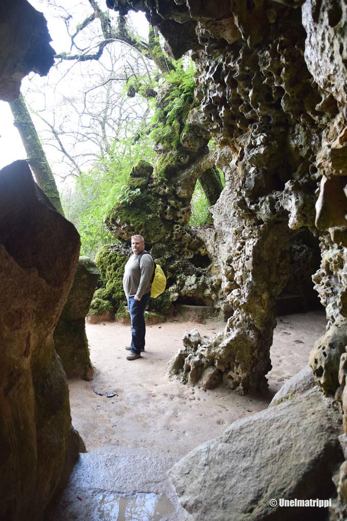Hemmo luolassa Quinta da Regaleirassa