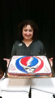 The Goddess and the Grateful Dead Cake | by thegoddessandgrocer