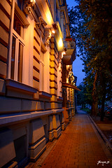Street at night - Novi Sad
