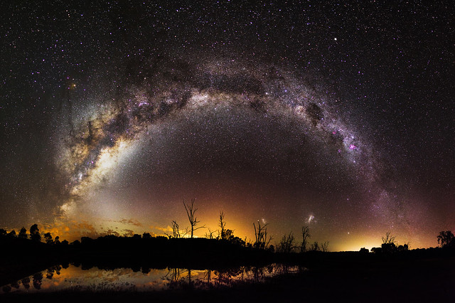 Milky Way over Harvey Dam, Western Australia
