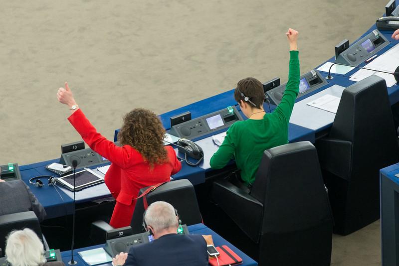 Abstimmung im Europäischen Parlament