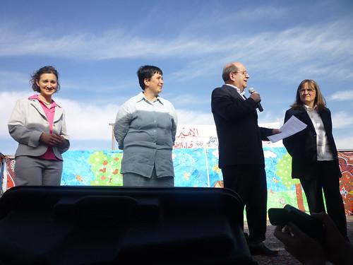 Inaugurazione a Madaba in Giordania - 15 maggio 2010