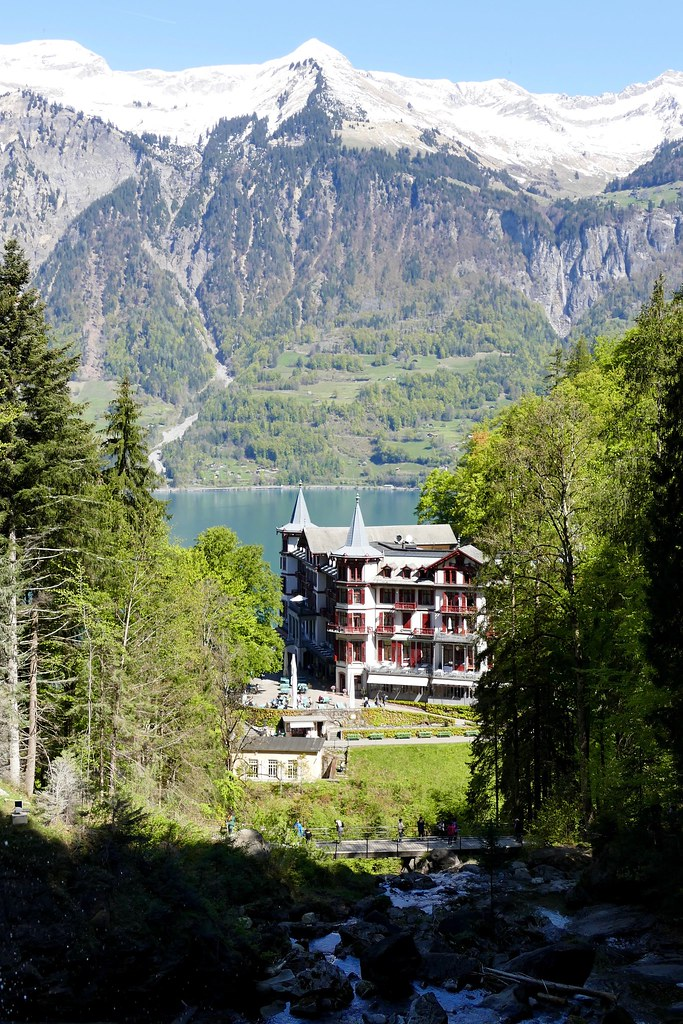 Grandhotel Giessbach Berner Oberland Switzerland Roli B Flickr