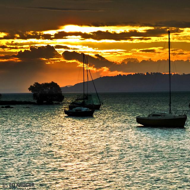 Taupo Lake, New Zealand