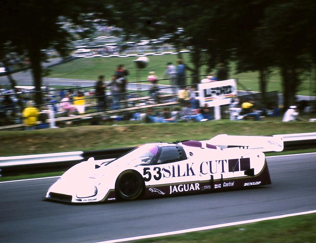 Jaguar XJR-6 - Derek Warwick & Jean-Louis Schlesser enters ...