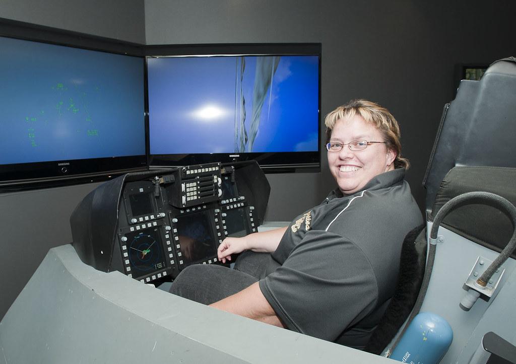 F-22 Cockpit Demonstrator   On Tuesday, Dec  13, 2011, sever