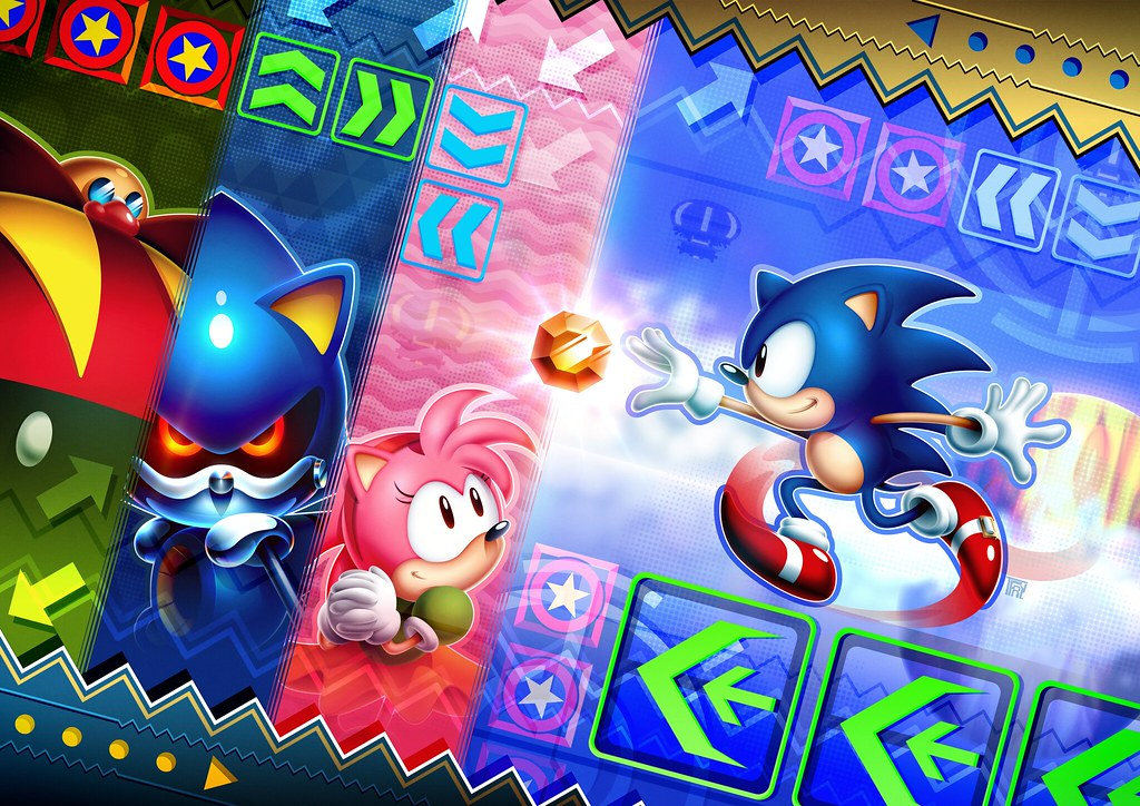 Sonic CD Fan Art Contest Grand Prize Winner - Europe   Flickr