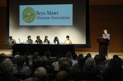 Bryn Mawr College Student panel at National Museum for American Jewish History