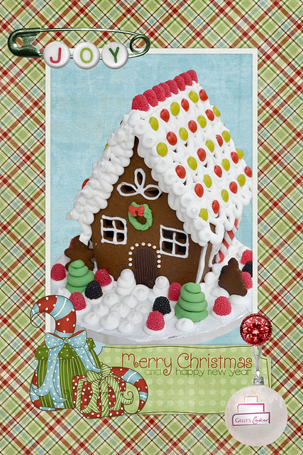 Gingerbread Cottage House
