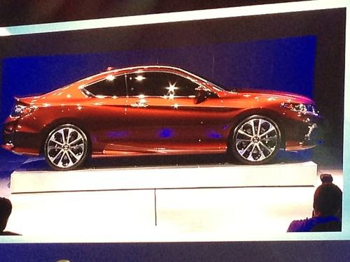 2013 Honda Accord Coupe Concept - Live from the 2012 Detroit Auto Show -  Jan 10, 9 36 14 AM Photo