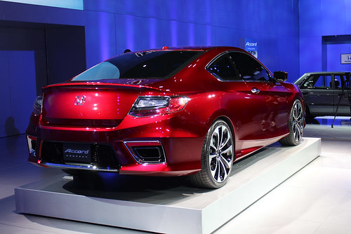 2013 Honda Accord Coupe Concept - Pictures from the 2012 Detroit Auto Show Photo