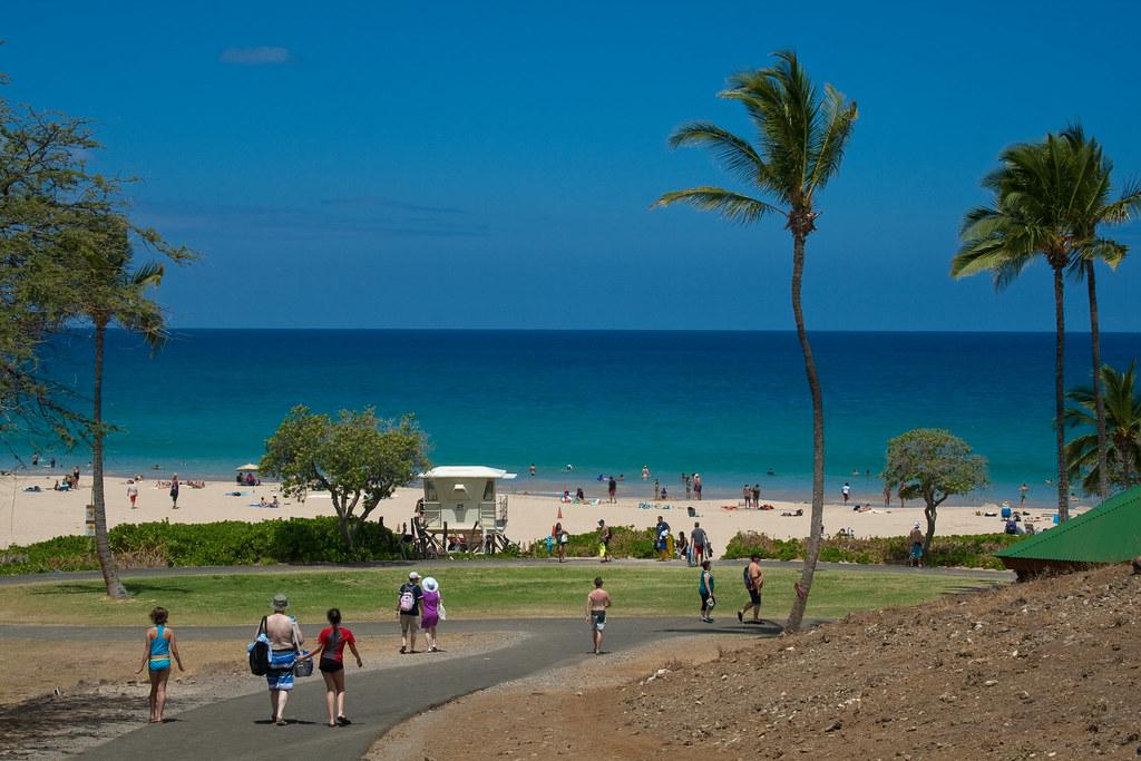 Hapuna Beach State Park Big Island Hawaii Look At This