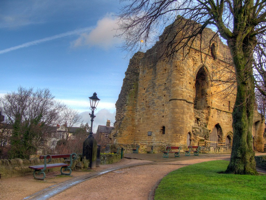 Knaresborough Castle in Harrogate
