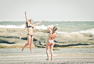 Happy Girls on the Beach of José Ignácio | by jvc