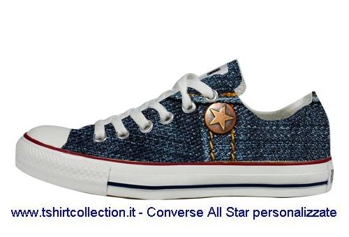c784dd15b7 Scarpe Personalizzate slim Jeans Style Converse All Star | Flickr