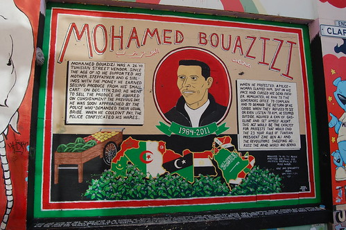 Clarion Alley Murals - Mohamed Bouazizi | by FarOutFlora