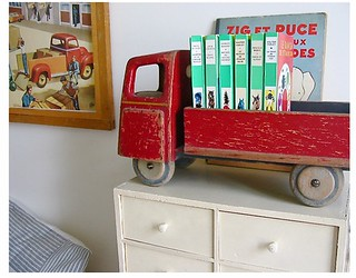 truck book holder | by babyspace blog