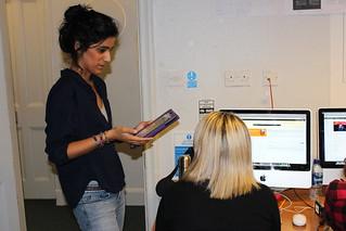 Discussing the news stories | by edinburghnapiernews
