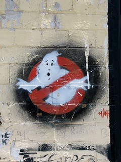 Image1232 Ghostbusters stencil. Fortitude Valley, Brisbane. | by JAM Project