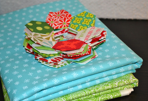 patchwork wreath napkins!  :)