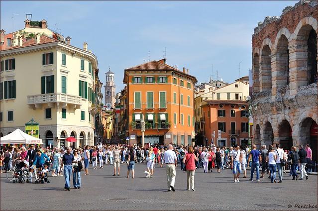 Verona : Piazza Brà