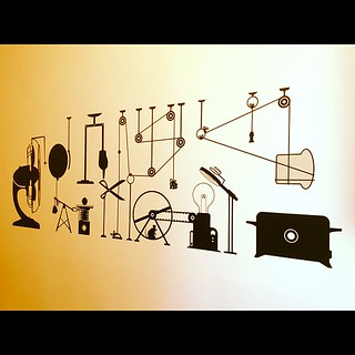 We have a Rube Goldberg / Heath Robinson toast machine as kitchen wall art! | by NatBat