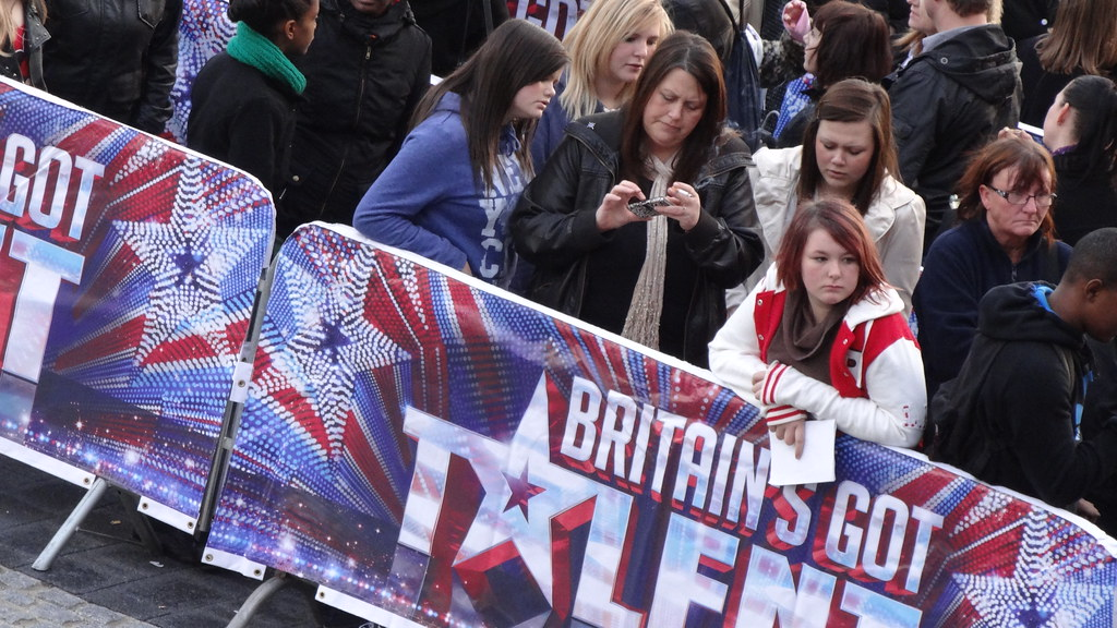 Britain's Got Talent performers queue for auditions | Flickr