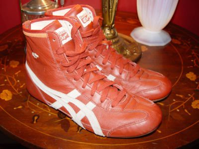pretty nice e7579 6b88a asics onitsuka tiger wrestling shoes size 10.5-11 | Just Loo ...