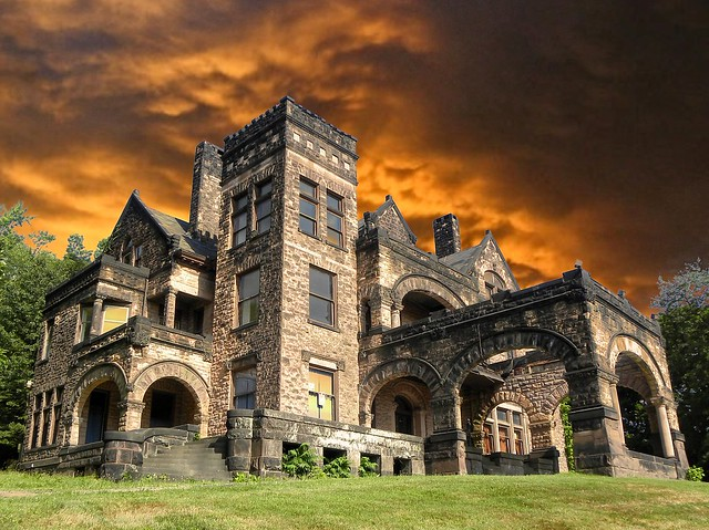 Sharon PA ~ Victorian Stone Mansion on The Hill