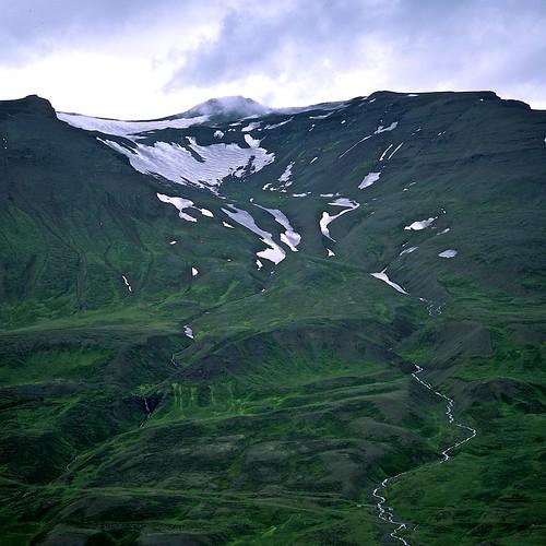 "Image titled ""Ridge, Walking to Sulur, Iceland."""