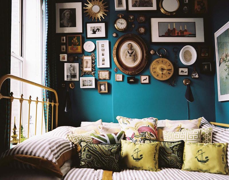 Blue Yellow Bedroom Surf Blue By Benjamin Moore Flickr