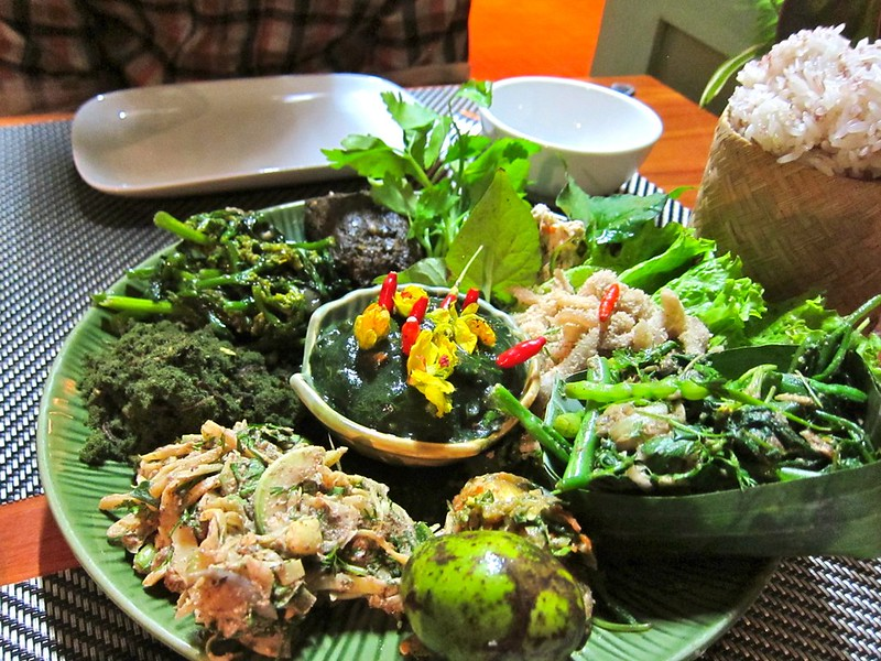 """Adventurous"" Dinner at Tamarind, Luang Prabang, Laos"