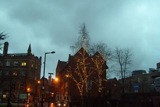 Manchester In Winter 2012   by Robert Burrell Donkin
