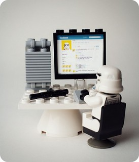 Lego on Facebook   by amarois