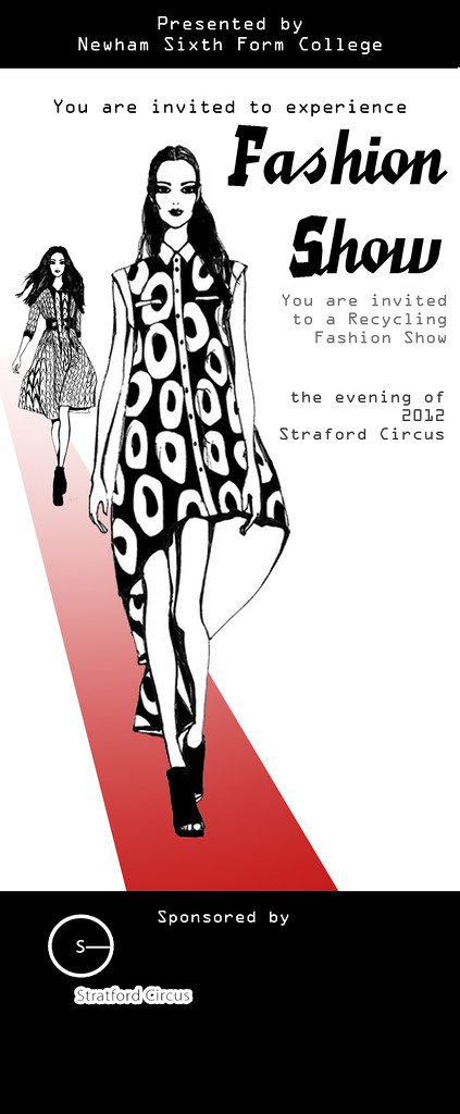 Fashion Show Invitation Card 2