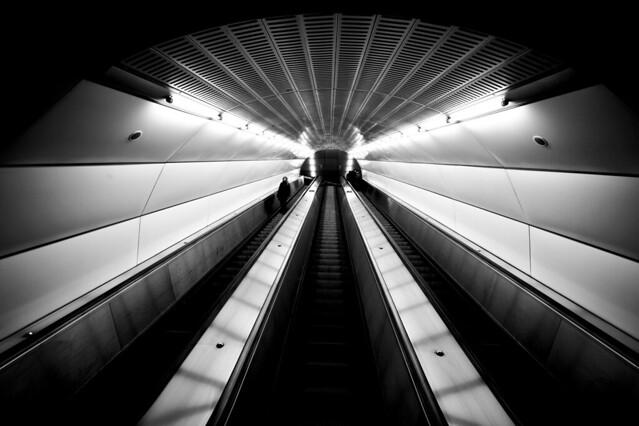 Vienna Subway U2 - Taborstraße